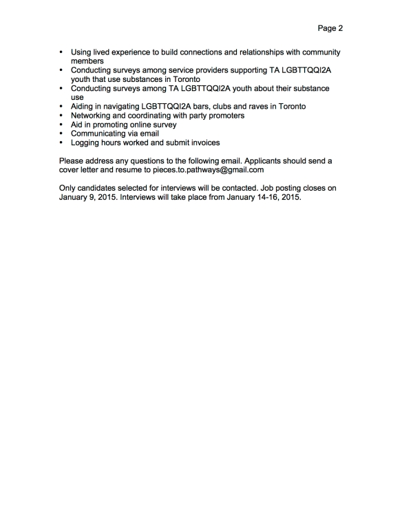 Pieces To Pathways Contract Outreach Worker (1 position) FINAL page 2