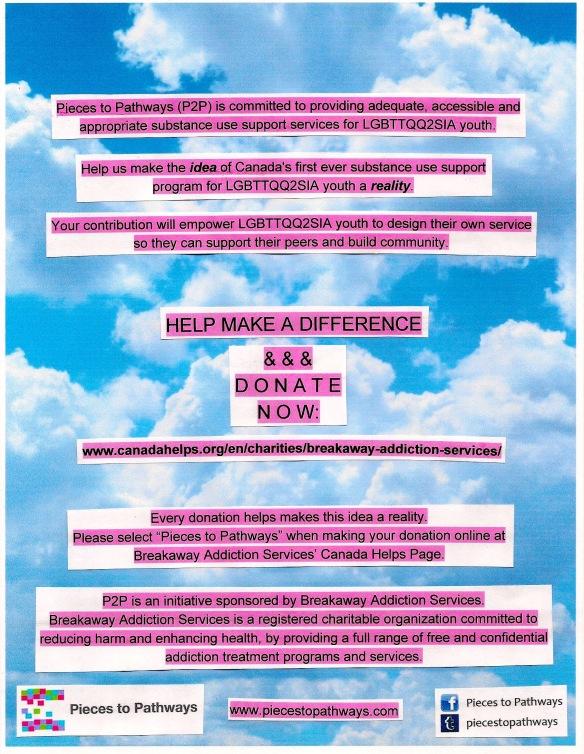 P2P Fundraising Poster 1
